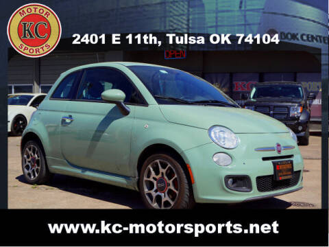 2014 FIAT 500 for sale at KC MOTORSPORTS in Tulsa OK