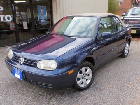 2002 Volkswagen Cabrio for sale at VP Auto in Greenville SC
