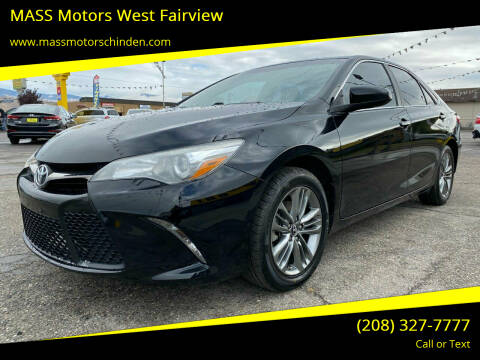 2017 Toyota Camry for sale at MASS Motors West Fairview in Boise ID