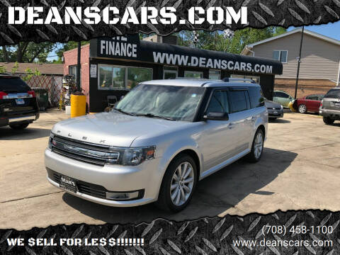 2014 Ford Flex for sale at DEANSCARS.COM in Bridgeview IL