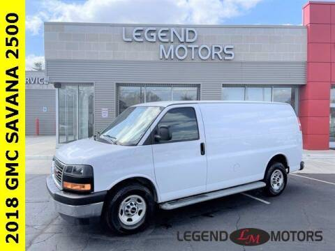 2018 GMC Savana Cargo for sale at Legend Motors of Waterford in Waterford MI