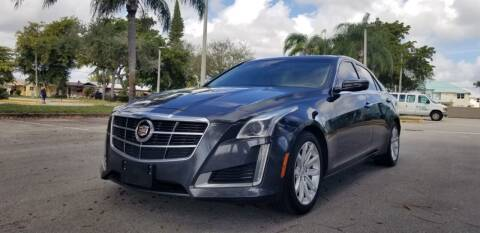 2014 Cadillac CTS for sale at HIGH PERFORMANCE MOTORS in Hollywood FL