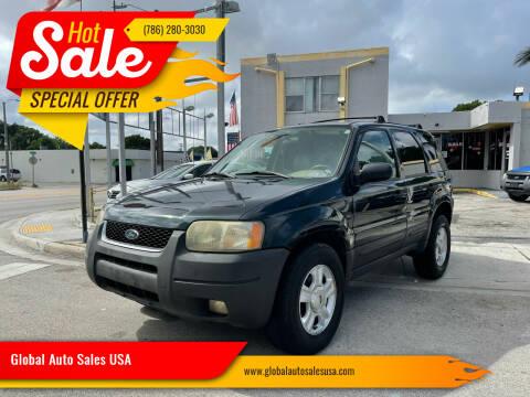 2004 Ford Escape for sale at Global Auto Sales USA in Miami FL