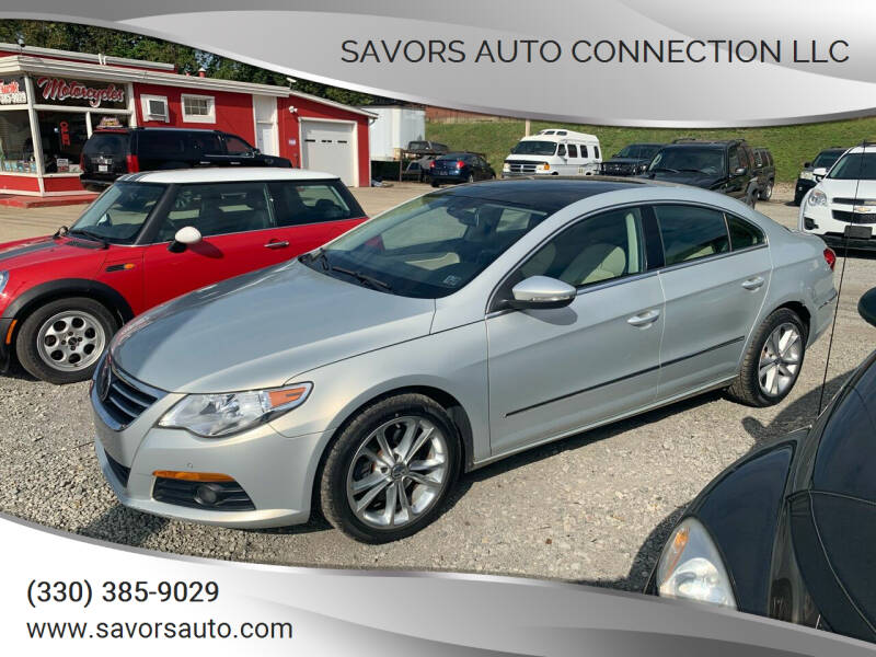 2009 Volkswagen CC for sale at SAVORS AUTO CONNECTION LLC in East Liverpool OH