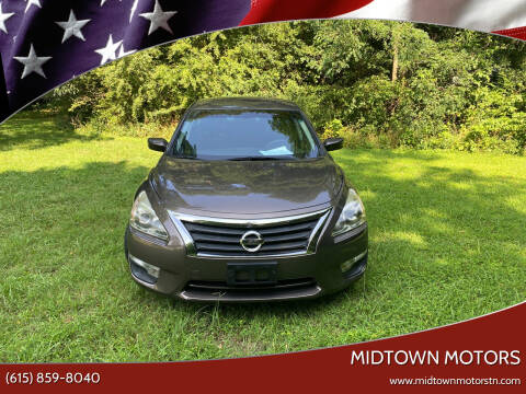 2014 Nissan Altima for sale at Midtown Motors in Greenbrier TN