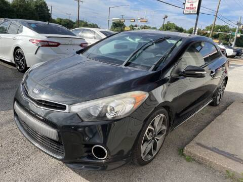 2015 Kia Forte Koup for sale at Pary's Auto Sales in Garland TX