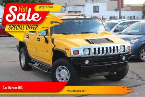 2003 HUMMER H2 for sale at Car Bazaar INC in Salt Lake City UT