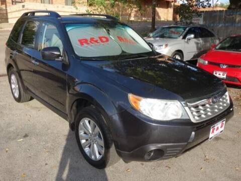 2012 Subaru Forester for sale at R & D Motors in Austin TX