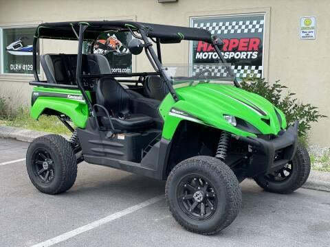2009 Kawasaki Teryx 4 Seat LOADED for sale at Harper Motorsports-Powersports in Post Falls ID