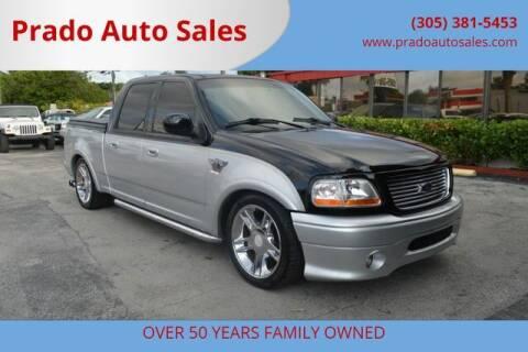 2003 Ford F-150 for sale at Prado Auto Sales in Miami FL