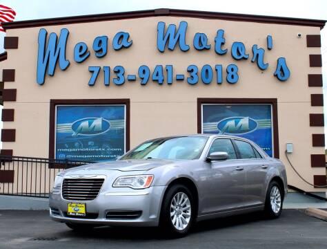 2013 Chrysler 300 for sale at MEGA MOTORS in South Houston TX