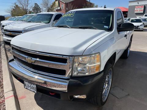 2008 Chevrolet Silverado 1500 for sale at Legend Auto Sales in El Paso TX
