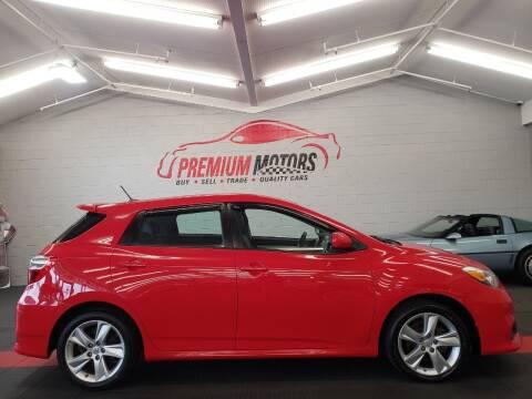 2012 Toyota Matrix for sale at Premium Motors in Villa Park IL