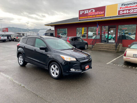 2014 Ford Escape for sale at Pro Motors in Roseburg OR