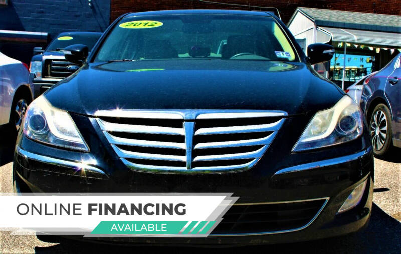 2012 Hyundai Genesis for sale at EZ PASS AUTO SALES LLC in Philadelphia PA