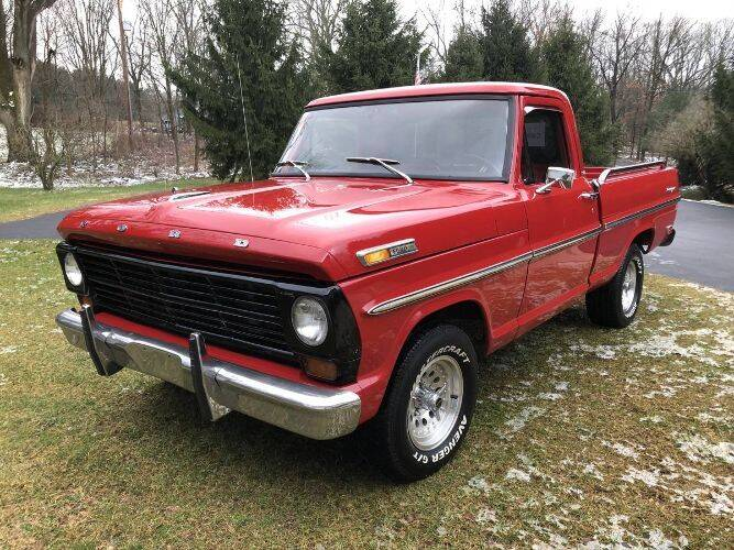 1968 Ford F-150 for sale in Cadillac, MI