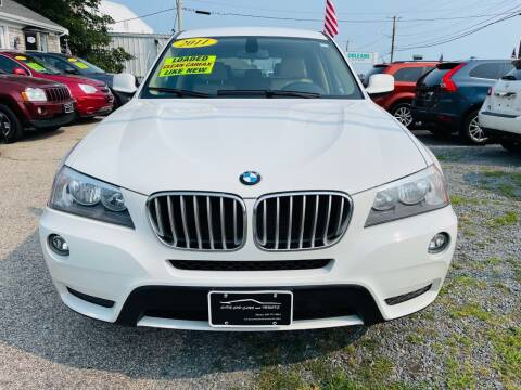 2011 BMW X3 for sale at Cape Cod Cars & Trucks in Hyannis MA