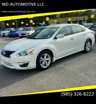 2013 Nissan Altima for sale at MD AUTOMOTIVE LLC in Slidell LA