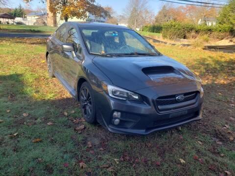 2015 Subaru WRX for sale at CRS 1 LLC in Lakewood NJ