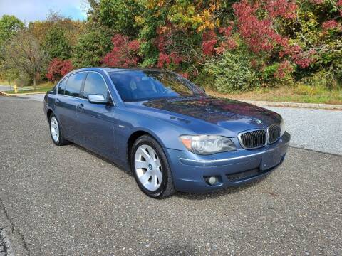 2007 BMW 7 Series for sale at Premium Auto Outlet Inc in Sewell NJ