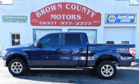 2011 Ford F-150 for sale at Brown County Motors in Russellville OH