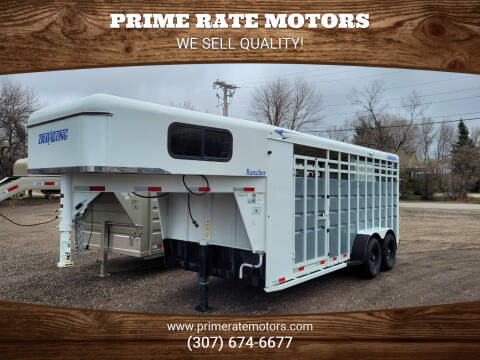 2018 TravAlong 18' Goose-Neck Stock Combo for sale at PRIME RATE MOTORS in Sheridan WY