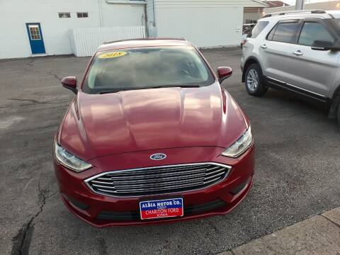 2018 Ford Fusion for sale at Albia Motor Co in Albia IA