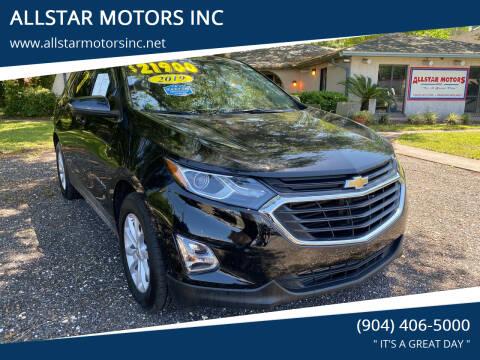 2019 Chevrolet Equinox for sale at ALLSTAR MOTORS INC in Middleburg FL