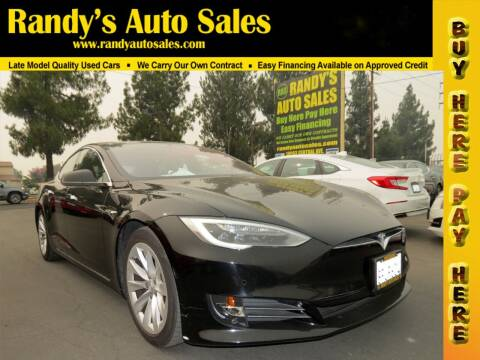 2018 Tesla Model S for sale at Randy's Auto Sales in Ontario CA