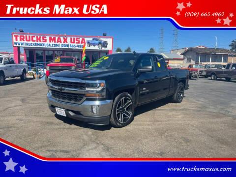 2017 Chevrolet Silverado 1500 for sale at Trucks Max USA in Manteca CA