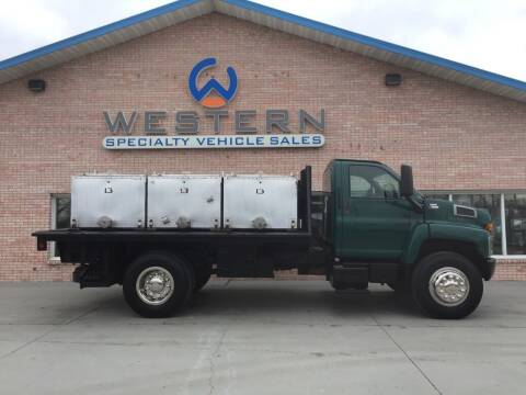 2005 GMC 7500 Fish Stocking Truck for sale at Western Specialty Vehicle Sales in Braidwood IL