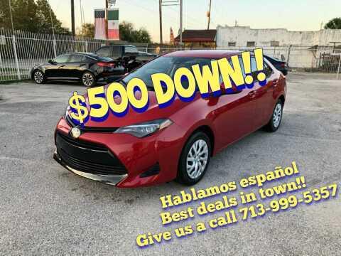 2019 Toyota Corolla for sale at Saipan Auto Sales in Houston TX