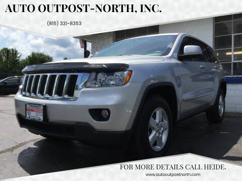 2012 Jeep Grand Cherokee for sale at Auto Outpost-North, Inc. in McHenry IL