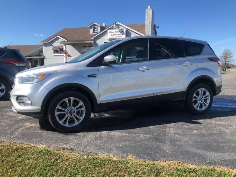 2017 Ford Escape for sale at Village Motors in Sullivan MO