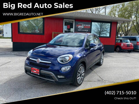 2016 FIAT 500X for sale at Big Red Auto Sales in Papillion NE