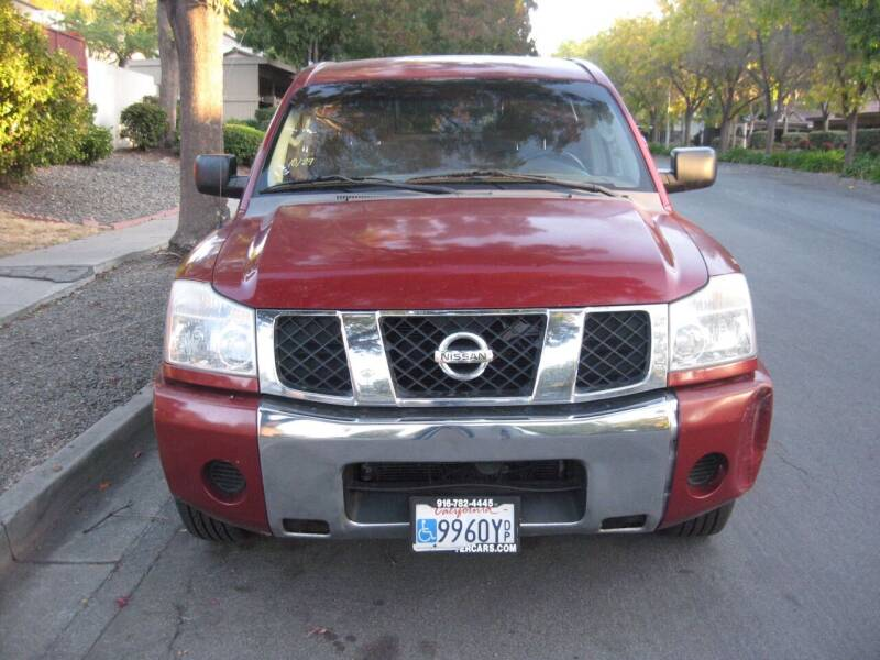 2006 Nissan Titan for sale at StarMax Auto in Fremont CA