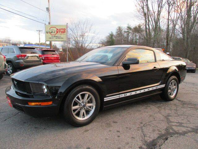 2005 Ford Mustang for sale at AUTO STOP INC. in Pelham NH