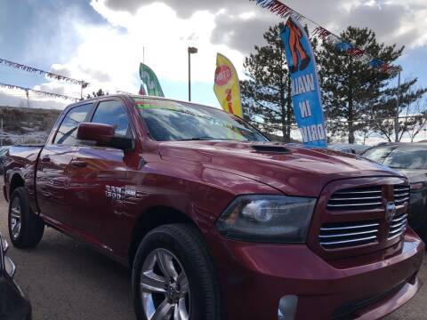 2013 RAM Ram Pickup 1500 for sale at Duke City Auto LLC in Gallup NM