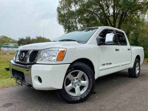 2005 Nissan Titan for sale at Powerhouse Automotive in Tampa FL