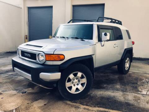 2007 Toyota FJ Cruiser for sale at Easy Deal Auto Brokers in Hollywood FL