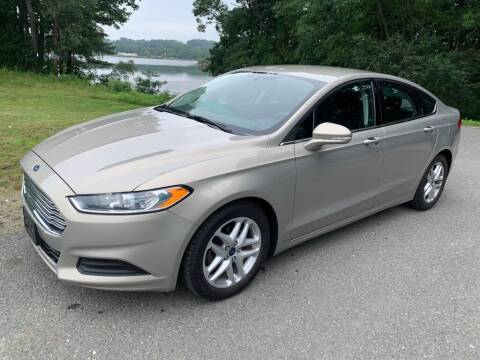 2015 Ford Fusion for sale at Elite Pre-Owned Auto in Peabody MA