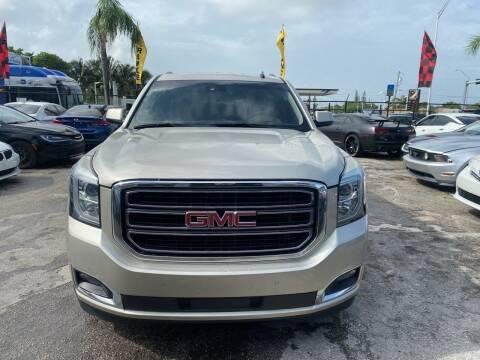 2015 GMC Yukon for sale at America Auto Wholesale Inc in Miami FL
