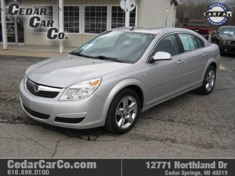 2007 Saturn Aura for sale at Cedar Car Co in Cedar Springs MI