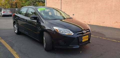 2014 Ford Focus for sale at Exxcel Auto Sales in Ashland MA