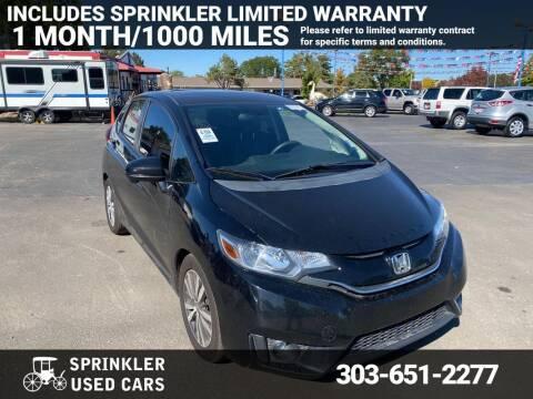 2017 Honda Fit for sale at Sprinkler Used Cars in Longmont CO