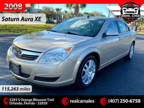 2008 Saturn Aura for sale at Real Car Sales in Orlando FL