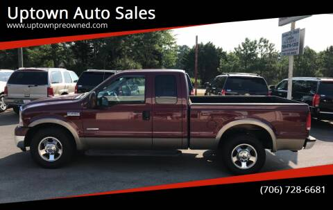 2005 Ford F-250 Super Duty for sale at Uptown Auto Sales in Rome GA