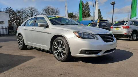 2012 Chrysler 200 for sale at Salem Auto Market in Salem OR