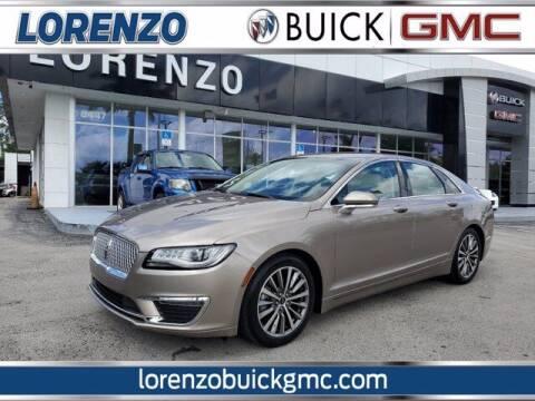 2019 Lincoln MKZ Hybrid for sale at Lorenzo Buick GMC in Miami FL