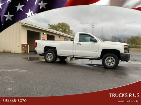 2014 Chevrolet Silverado 1500 for sale at Trucks R Us in Central Square NY